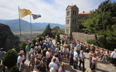 W Grecji coraz więcej turystów