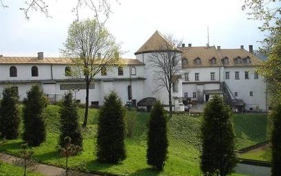 Zamek w Lesku.