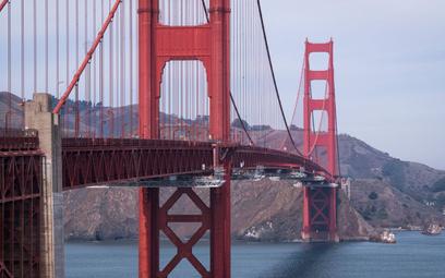 Słynny most Golden Gate w San Francisco, gdzie ma siedzibę startup Filipa Kozery