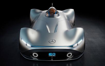 Mercedes EQ Silver Arrow: Wizja inspirowana przeszłością