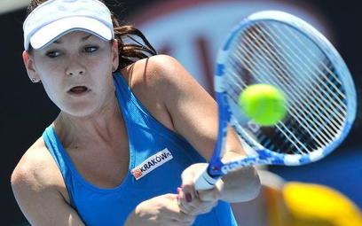 Agnieszka Radwańska w Australian Open