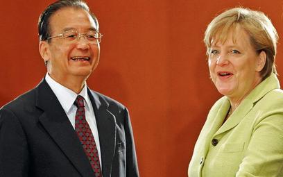 Premier Chin Wen Jiabao zabiega o względy Niemiec – najbardziej wpływowego kraju UE. Dlatego przy ka