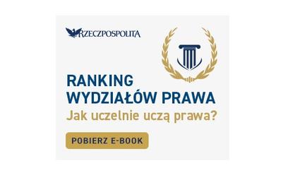 Ranking Wydziałów Prawa 2021