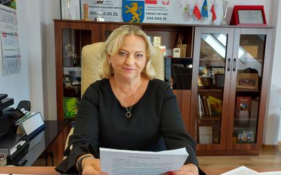 Jolanta Gudalewska, burmistrz Krynek