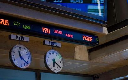 Akcje na GPW: WIG20 ociera się o poziom 1700 punktów