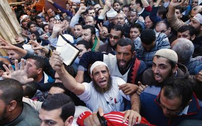 W 2011 r. Bractwo Muzułmanskie przejęło władzę w Egipcie. Na zdjęciu manifestacja poparcia dla prezy