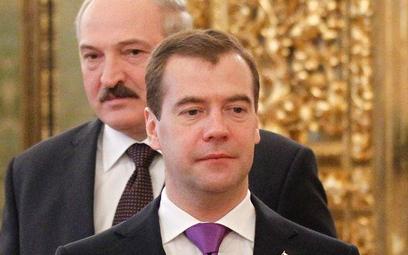 Dmitrij Miedwiediew i Aleksander Łukaszenko