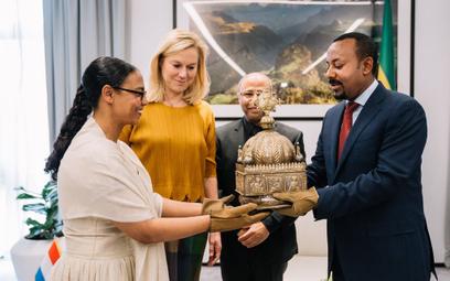 Holandia zwróciła Etiopii zaginioną koronę z XVIII wieku