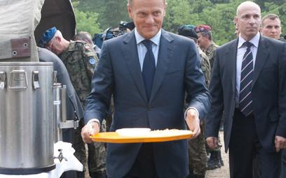 Owocowo-warzywna kampania Donalda Tuska