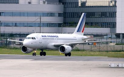 Francja: Możliwa bomba na pokładzie samolotu Air France