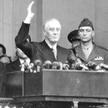 Franklin Delano Roosevelt (1882–1945), 32. prezydent Stanów Zjednoczonych, wybierany na ten urząd w