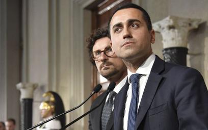 Luigi Di Maio, lider Ruchu Pięciu Gwiazd