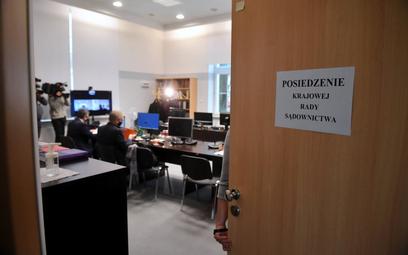 Posiedzenie Krajowej Rady Sądownictwa w Warszawie