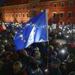 Prounijna demonstracja w Warszawie