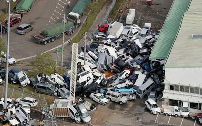 Tajfun Jebi nawiedził Japonię. Ewakuacja mieszkańców