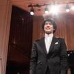 Bruce Xiaoyu Liu grał w tegorocznym konkursie na fortepianie włoskiej marki Fazioli.