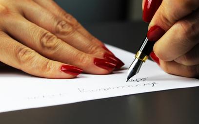 Dopisek na dokumencie był zgodny z prawem
