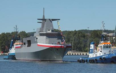 W ciągu dekady rząd chce zbudować okręty o wartości 25 mld zł. Na zdjęciu ORP Ślązak tuż po ubiegłor