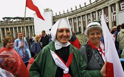 Wielu pielgrzymów przyjechało do Wiecznego Miasta w grupach parafialnych