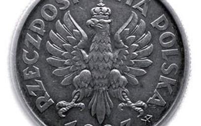 Orzeł Lewandowskiego na monecie o nominale 2 zł