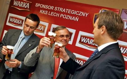 Reklamy Warki najładniej wyglądać będą w Poznaniu. To sponsor Lecha od 2006 roku