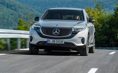 Mercedes EQC: Zapowiadany, opóźniony, wyprzedany