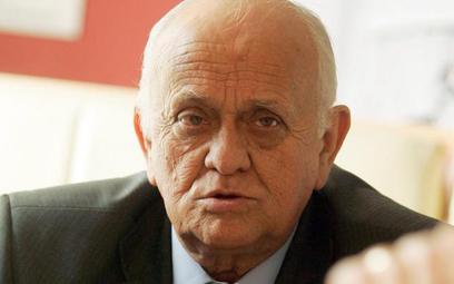 Andrzej Strejlau, były trener reprezentacji Polski, działacz piłkarski