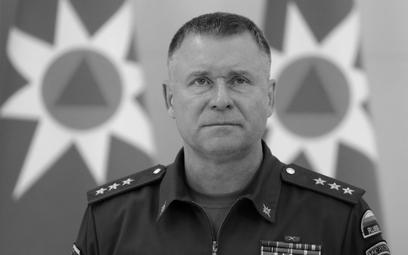 Minister ds. sytuacji nadzwyczajnych Rosji Jewgienij Ziniczew