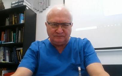 Prof. Simon: Nie wierzę w zwycięstwo nad koronawirusem