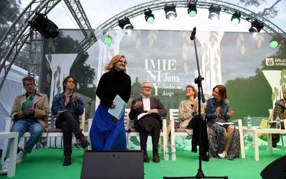 Co roku podczas Imienin w meczach literackich biorą udział aktorzy różnych pokoleń