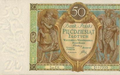 Dzięki reformie Grabskiego (kwiecień 1924 r.) jeden złoty polski był równy frankowi szwajcarskiemu,