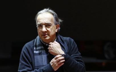 Sergio Marchionne, szef Fiat Chrysler Automobiles
