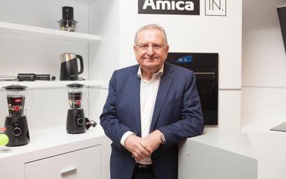 Jacek Rutkowski - prezes zarzadu Amica Wronki