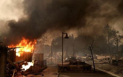 Pożary trawią północną Kalifornię