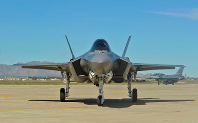 Wielozadaniowy samolot bojowy Lockheed Martin F-35A Lightning II. Fot./USAF.