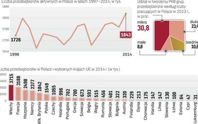 Polacy coraz chętniej otwierają własne firmy