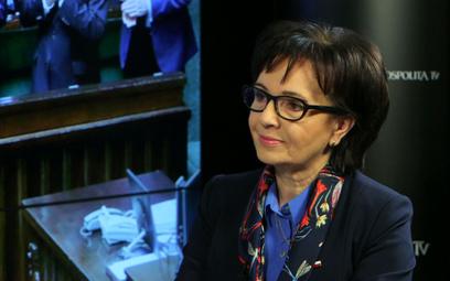 Elżbieta Witek: Uchodźcy? Rząd nie zmieni zdania