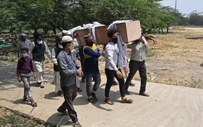 Indie pogrążone w epidemii. To obecnie co trzeci przypadek na świecie