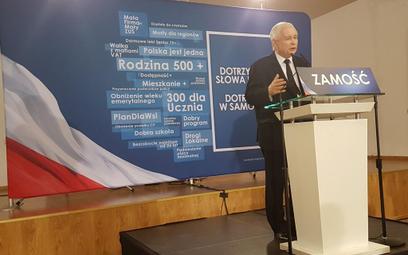 Jarosław Kaczyński: Odwołamy się od decyzji TSUE