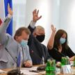 Członkowie sejmowej Komisji Kultury i Środków Przekazu: przewodniczący Piotr Babinetz oraz wiceprzew