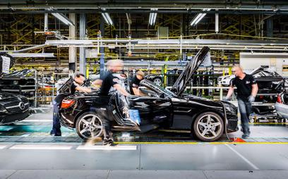 Produkcja samochodów w Niemczech na najniższym poziomie od 22 lat
