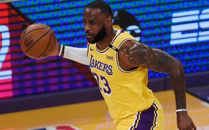 LeBron James wciąż w głównej roli w Los Angeles Lakers