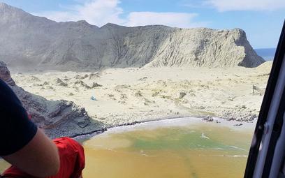 Rośnie liczba ofiar erupcji wulkanu w Nowej Zelandii