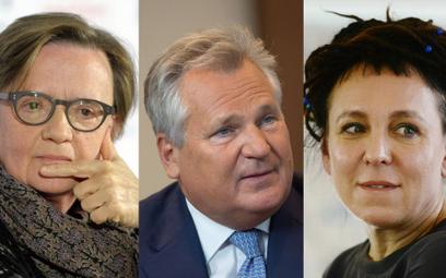 Agnieszka Holland, Aleksander Kwaśniewski, Olga Tokarczuk, jedni z polskich sygnatariuszy listu