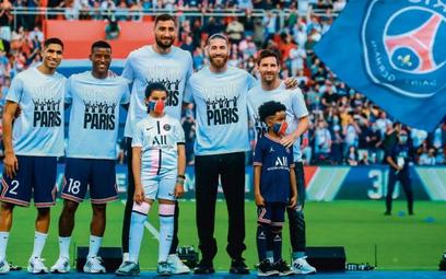 Nowe gwiazdy PSG (od lewej): Achraf Hakimi, Georginio Wijnaldum, Gianluigi Donnarumma, Sergio Ramos