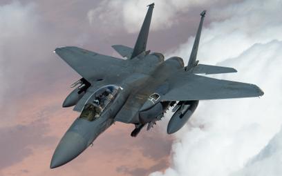 Wielozadaniowy samolot bojowy Boeing F-15E Strike Eagle Sił Powietrznych Stanów Zjednoczonych. Fot./