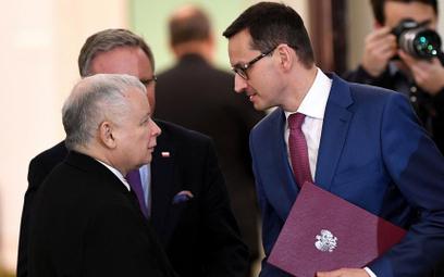 Czy prezes PiS Jarosław Kaczyński na swojego następcę namaści Mateusza Morawieckiego?
