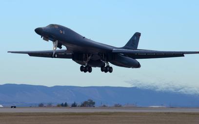 Bombowiec strategiczny B-1B Lancer. Fot./USAF/Senior Airman Denise Jenson.