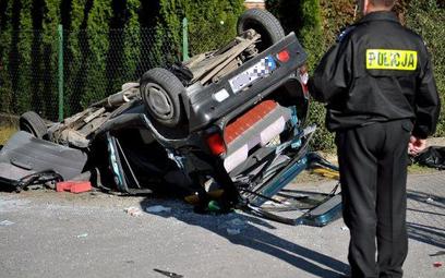 W 2015 r. zmniejszyła się ilość wypadków drogowych