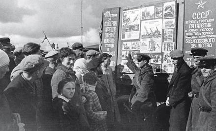 Polacy mieli w Wilnie trzech wrogów: Sowietów, Niemców i Litwinów. Na zdjęciu: porucznik sowieckiej